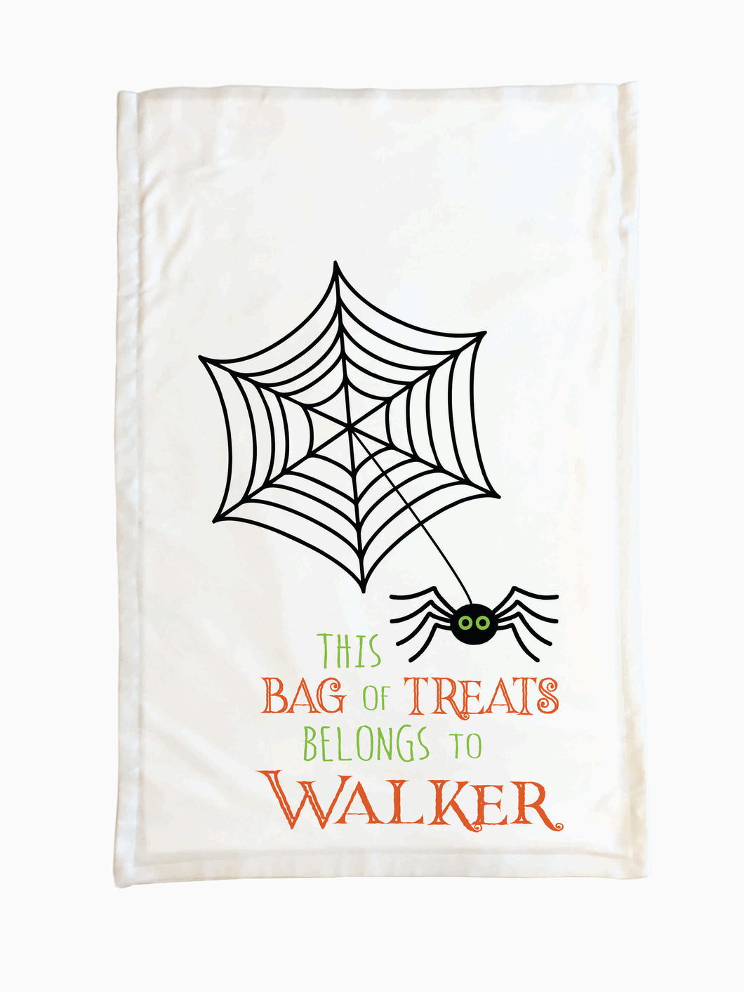 Spider Web - Trick or Treat Pillowcase