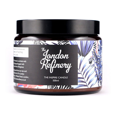 The London Refinery Candle  - 500ml