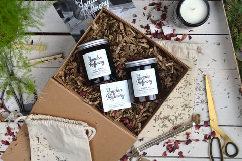 Soy candle gift set