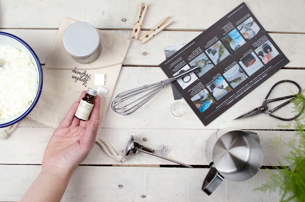 Virtual Corporate Candle Making Classes