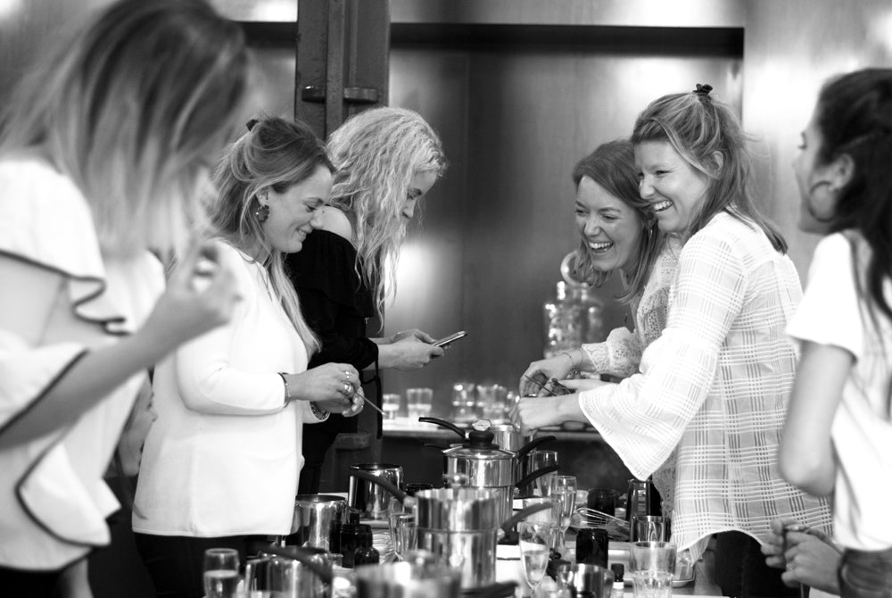 Hen do ideas - Candle making