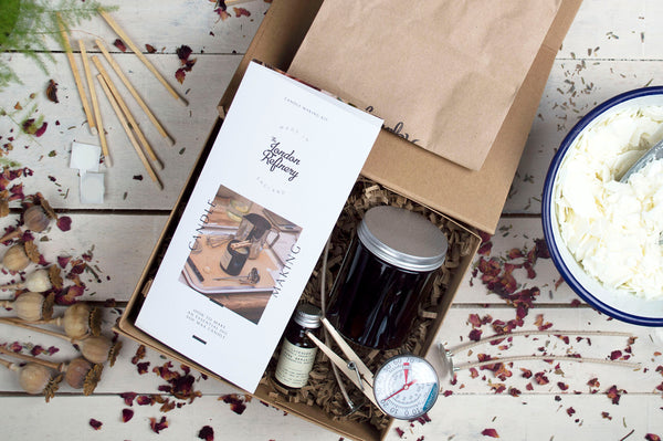 The London Refinery Candle Making Kit + Film