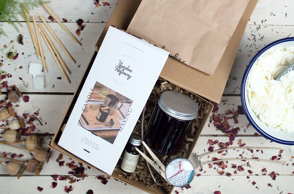 Virtual Candle Making Masterclass and Kit - London Refinery Studio - Thursday 28th January - 7.00pm