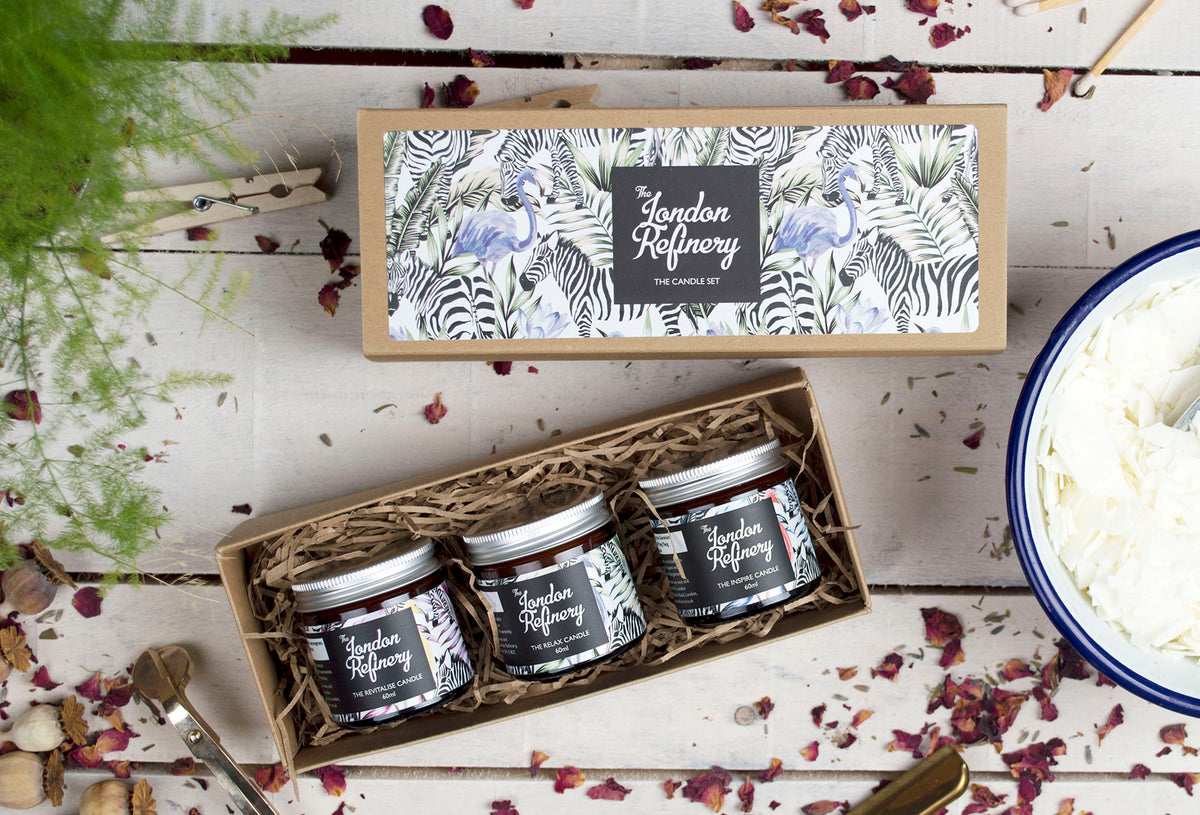 The Trio Candle Gift Set