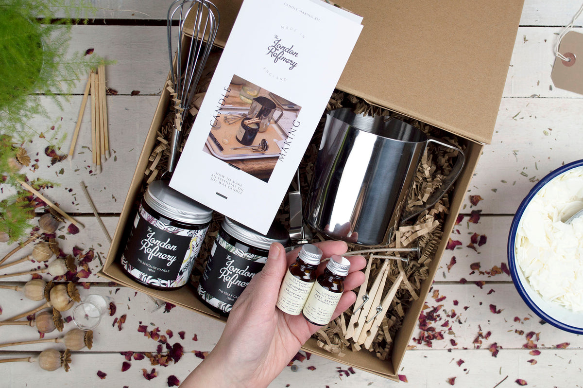 Candle Making Kit and Film (for two)