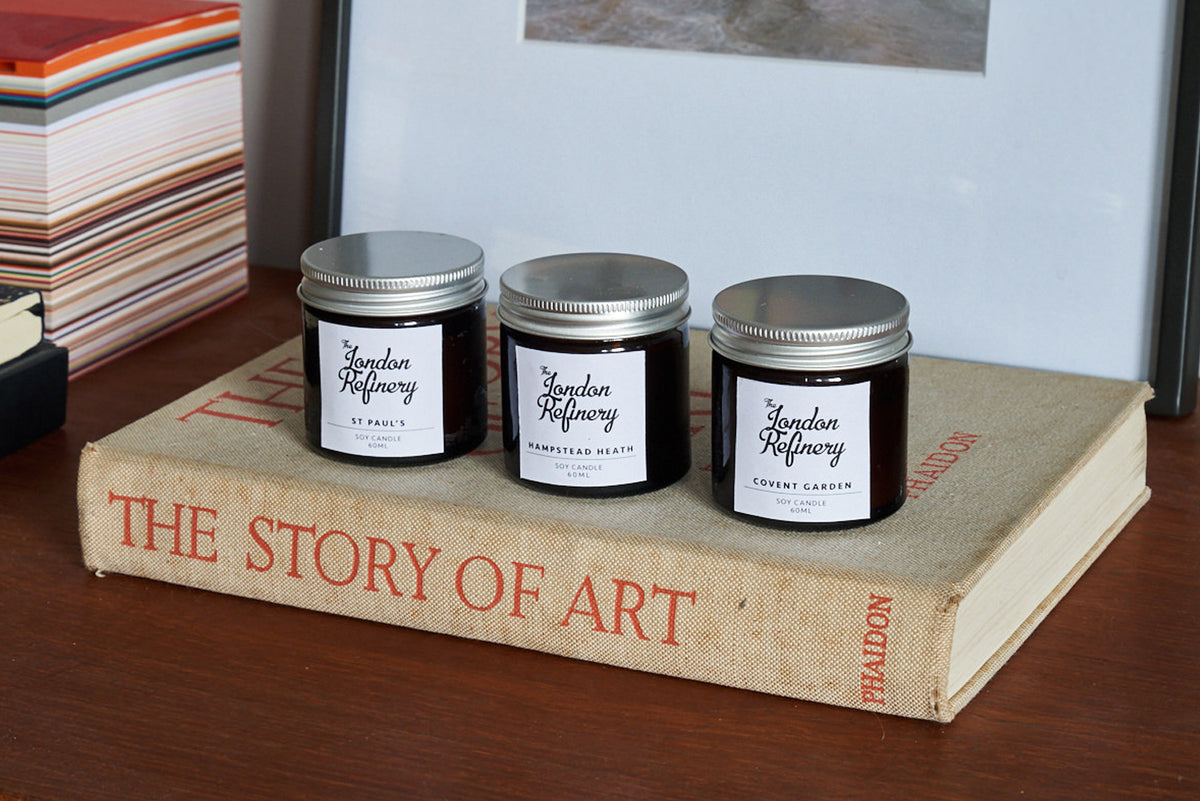 The London Trio Candle Gift Set