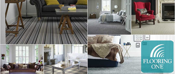 Carpets from Coast Road Furniture, Deeside. Free fitting when purchased with underlay