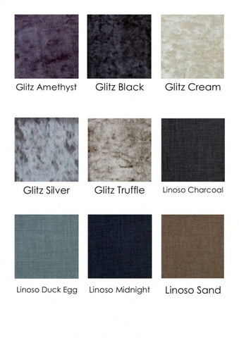 Divan Base Only Fabric Choices 2