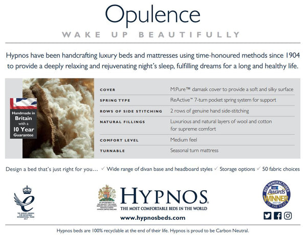 Hypnos Opulence - Seasonal Turn Mattress