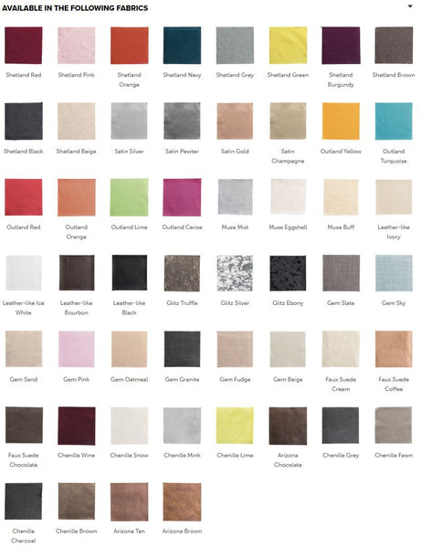 Swanglen Headboard Colour Swatch