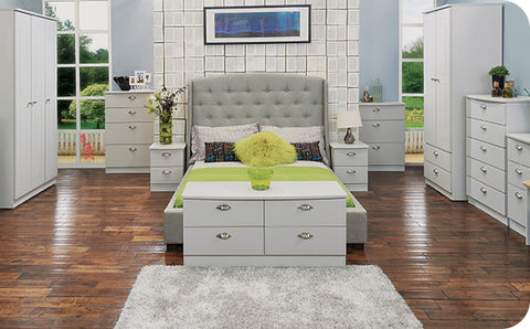 White bedroom furniture in Deeside, Flintshire