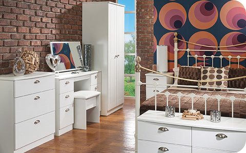 stylish traditional range of furniture with a choice of 3 exciting finish options