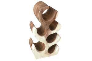 Wine rack made of acacia wood | D'Loft