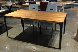 KANPUR 70'' Straight edge Acacia Dining Table