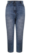 CurveWow Stretch Jeans - Mid Wash