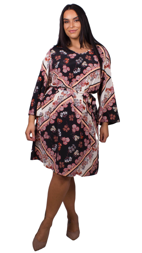 Ruth Floral Scarf Print Dress