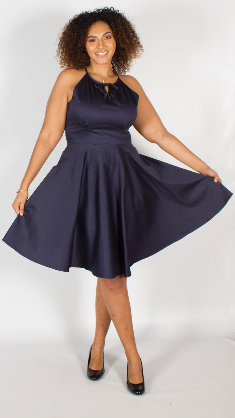 Kathmandu Blue Full Circle Dress
