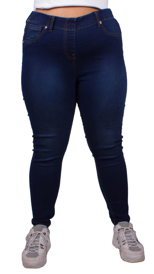 CurveWow Jeggings - Rinse Wash