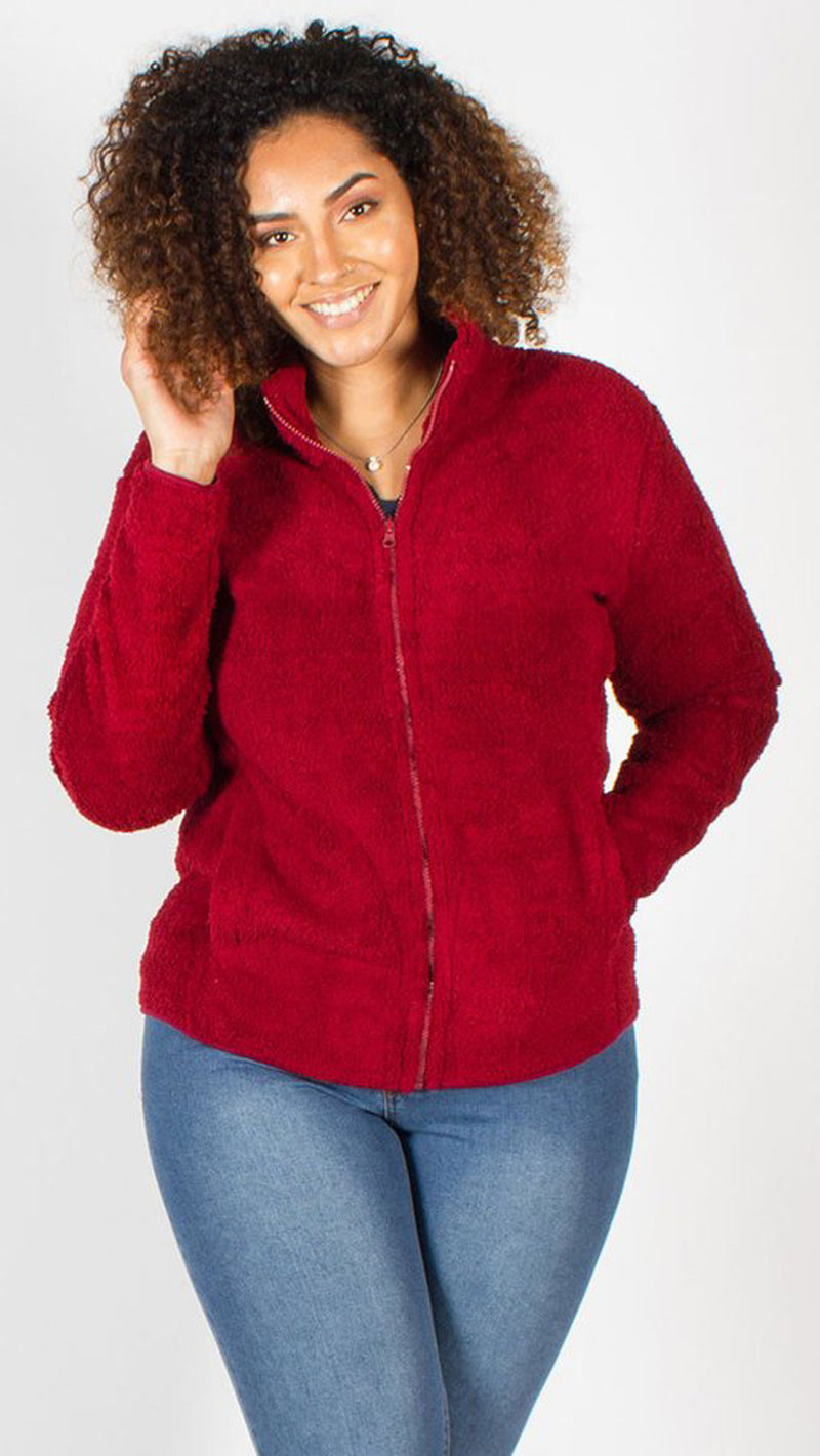 Madeira Wine Fleece Jacket