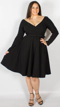 Malibu Black Mainline Doll Dress