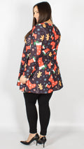 Christmas Stocking Cane Print Top