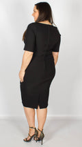 Trixie Pencil Dress Black