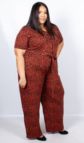 Brooklyn Animal Print Jumpsuit