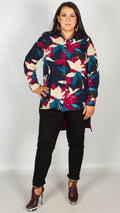 Raleigh Floral Longline Shirt