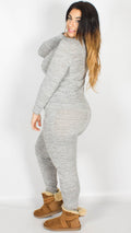 Scarlett Two Piece Lounge Set Grey