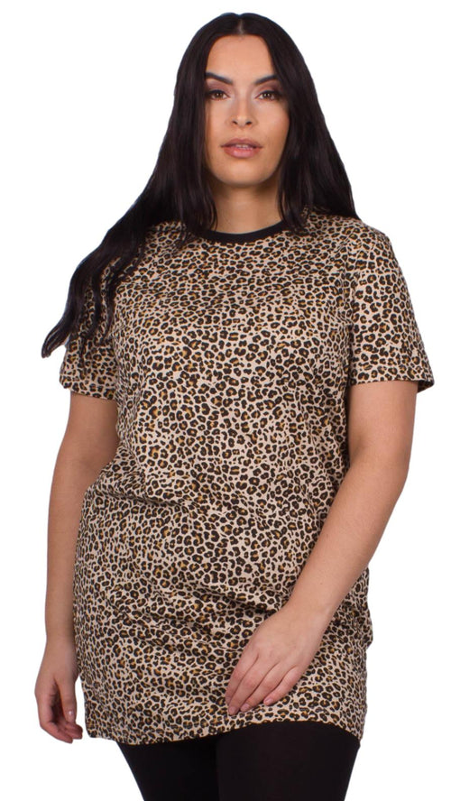 Marnie Animal Printed Oversized T-Shirt