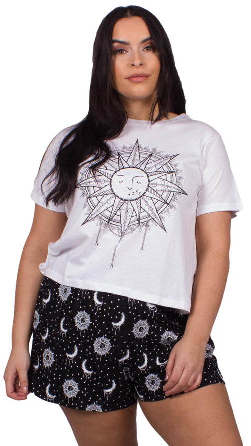 Nicole Sun And Star Print Pyjama Set