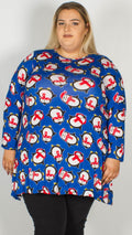 Penguin Print Christmas Swing Tunic
