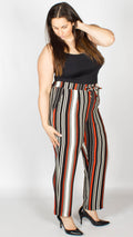 Stella Striped Crepe Trousers