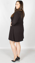 Nicky Swing Dress Black