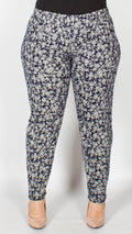 Millie Floral Navy Trousers