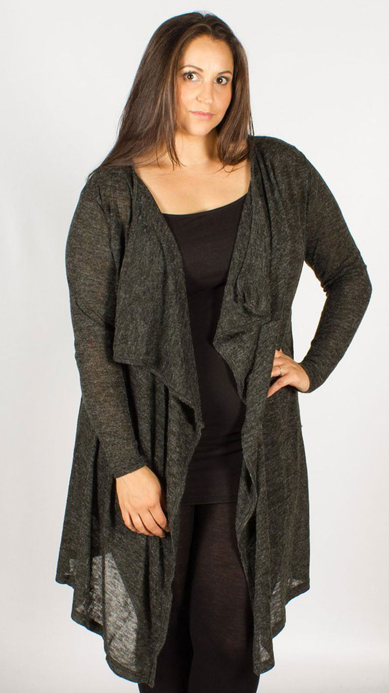 Laredo Grey Cardigan