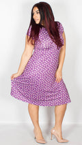 Juliet Fondant Fancies Print Tea Dress