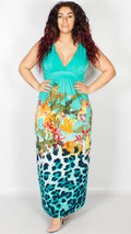 Florence Gradient Maxi Dress