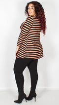 Joyce Striped Long Sleeve Tunic