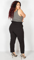 Monrovia Black Cigarette Trousers