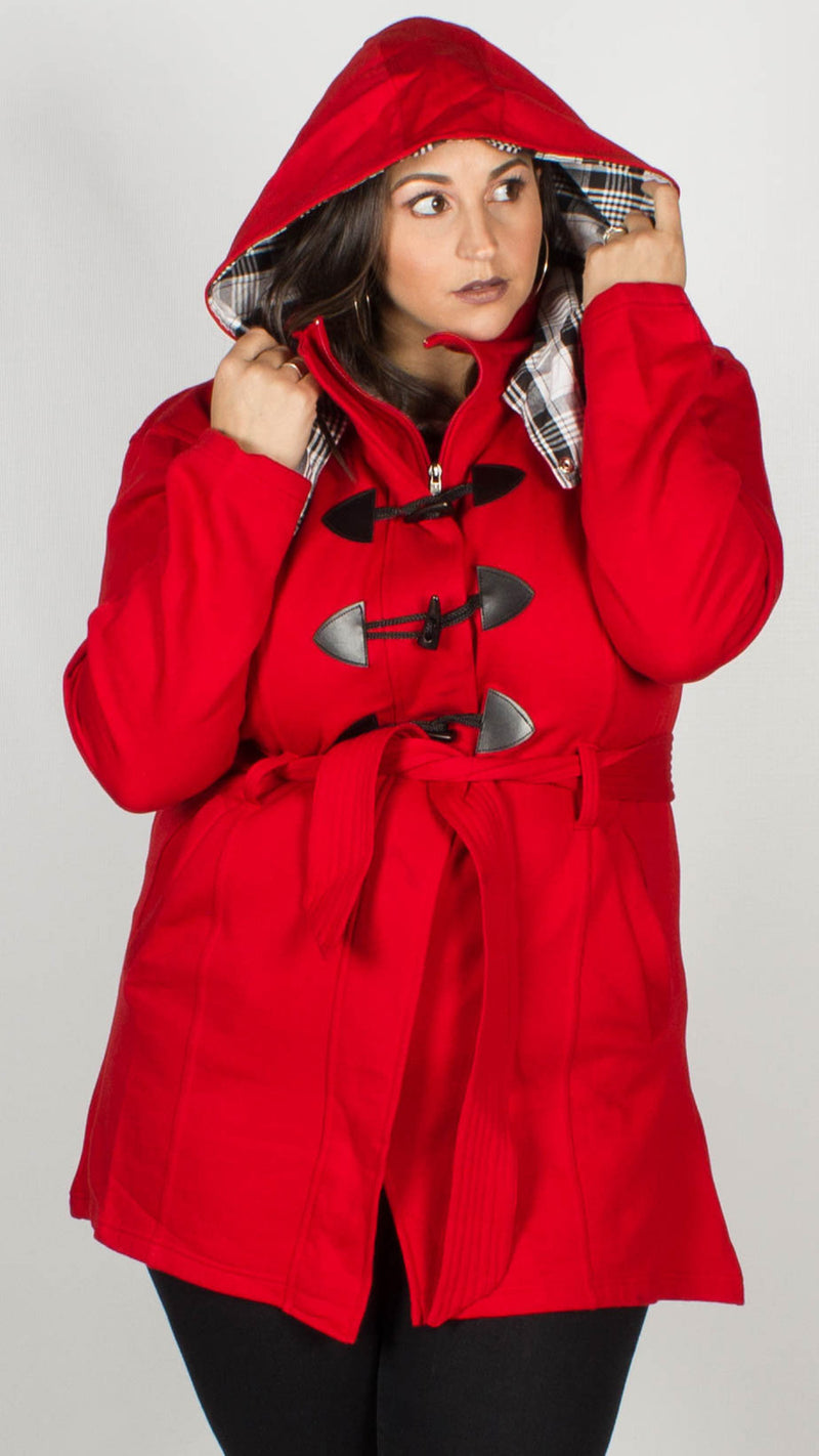 Tyler Red Duffle Jacket