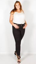 Julia Black Denim Wash Jeans