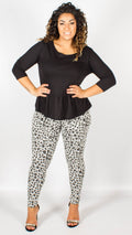 Tuka Animal Print Leggings