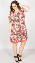 Maddison Floral Skater Dress