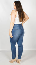 Heidi Pull On Denim Jeggings