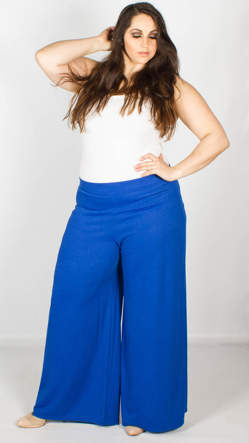 Leilani Crepe Palazzo Trousers