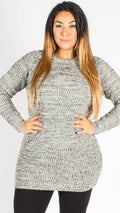 Holland Twist Long Sleeve Knitted Jumper