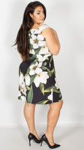 Amber Floral Bardot Dress