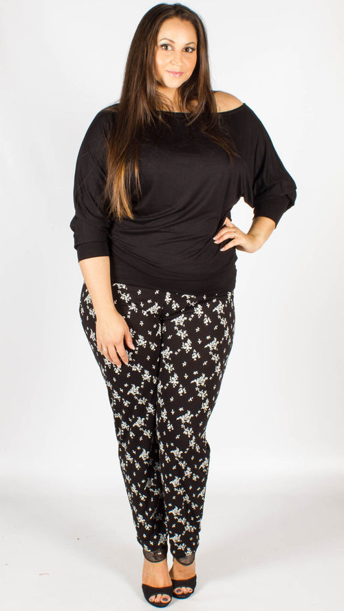Manaus Floral Print Trousers