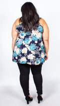 Charley Floral Sleeveless Top